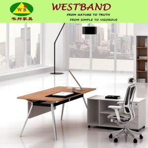 2015 New Design Modern Cheap Alloy Wooden Office Desk (WB-Bell)