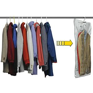 Hanger Vacuum Storage Bag, Hanging Storage Bag, Hanging Plastic Bag Storage pictures & photos