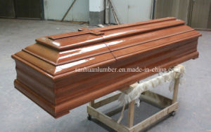 Wooden Coffin for Funeral Products (PT-002) pictures & photos