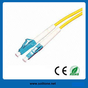 LC Single Mode Duplex Fiber Optic Patch Cord pictures & photos