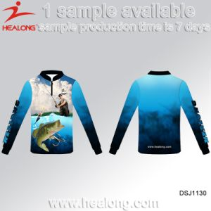 Healong Free Design Custom Quick Dry Fishing Shirts pictures & photos