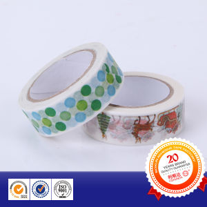 Gorgeous New Design Custom Printed Cartoon Washi Stationery Tape pictures & photos