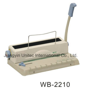 A4 Manual Wire Book Binding Machine Wb-2210/HP-5008A pictures & photos