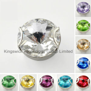 Pointback Crystal Rhinestone with Metal Claw pictures & photos