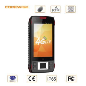 Android Rugged 5′′ Handheld PDA with RFID Barcode Scanner pictures & photos