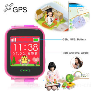 Big Colorful Touch Screen 1.44′′ Children GPS Watch Tracker (Y9) pictures & photos