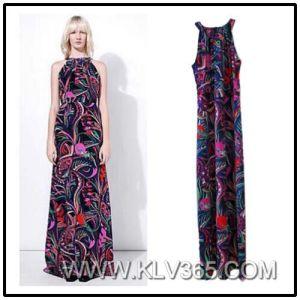 2016 New Designer Women′s Full Length Long Prom Evening Dress