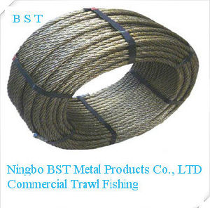 Galvanized Steel Wire Rope for Commercial Fishing (3-40mm) pictures & photos