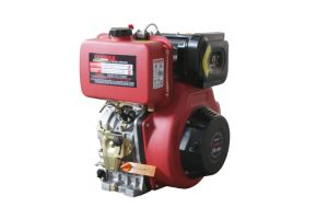 Four-Stroke Air Cooled Diesel Engine with Low Noise Running pictures & photos