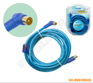 Suoer Double Loop TV AV Cable (3M Blister Pack) pictures & photos