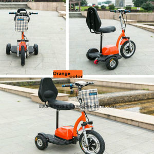 Newthree Wheels Electric Scooter with Ce pictures & photos