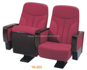 Soft High Back Theater Seating with Tablet Cinema Chair (YA-203) pictures & photos