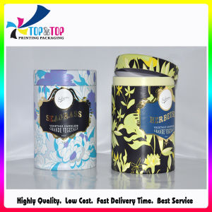 Cylinder Perfume Box with Hot Stamping pictures & photos