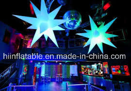 Giant Multi Colour Illuminated Inflatable Star for Event Decoration pictures & photos