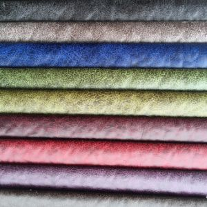 Suede Fabric Made From 100%Polyester with Bonding (832) pictures & photos