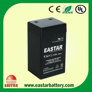 6V 2.3ah Lead Acid Battery pictures & photos
