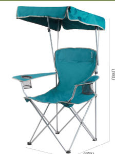Sunshade Folded Fishing Chair pictures & photos