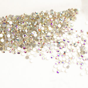 Crystal Flatback Nail Art Ab Rhinestone for Decoration 1440 PCS (D63) pictures & photos