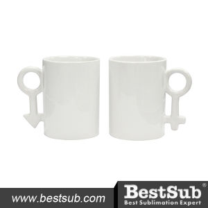 Js Coatings Sublimation Mugs 10oz Couple Mugs B1QL pictures & photos