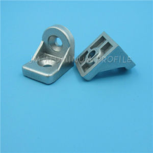 T Slot Gusset Element with Zn-Alloy Used for 40 Series pictures & photos