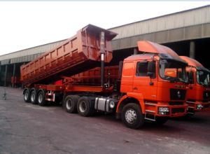 Shacman Tractor Truck D′long F2000 6X4 380HP Trailer Truck Head pictures & photos