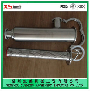 "2.5"" 316L Stainless Steel Hygienic Clamping Angle Type Strainer pictures & photos"