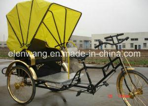 3wheeled Rickshaw Passenger Tricycle pictures & photos