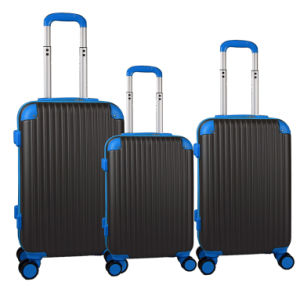 Classic 4 Wheel ABS Trolley Luggage (HTAP-0105) pictures & photos