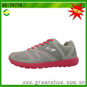 Good Quality Lady Running Sport Shoes From China Factory (GS-74774) pictures & photos