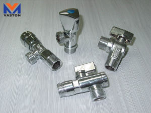 Brass Angle/Radiator Valve with High Quantity pictures & photos