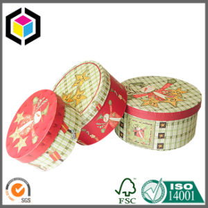 Luxury Round Cardboard Paper Chocolate Packaging Box pictures & photos