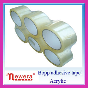 BOPP Self Adhesive 48mm Flat Shrink Packing Tape pictures & photos