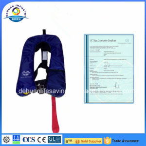 Inflatable Lifejacket Approval by CE&CCS
