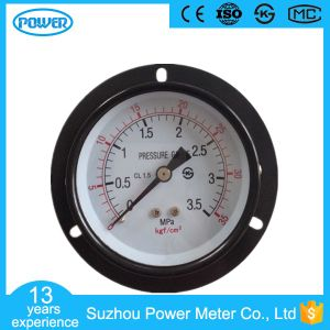 75mm Black Steel Case with Flange Lower Connect Manometer pictures & photos