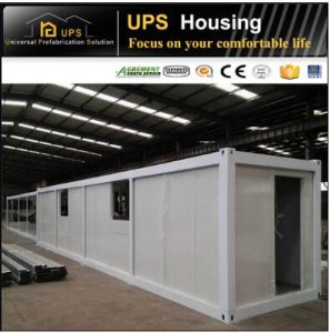 ISO Certificated Habitable Container House for Family Living with Windows and Doors pictures & photos