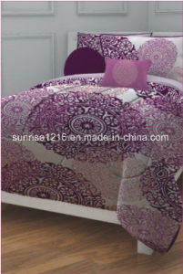 Quilt Sr-CS170222-14 Printed Microfiber Comforter Set pictures & photos