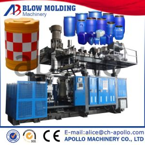 High Quality Hot Salae Anti-Bump Barrel Blow Moulding Machine pictures & photos