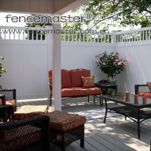 Vinyl Fence for North America pictures & photos
