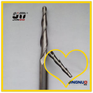 Solid Carbide China Long Taper Milling Cutter 150mm pictures & photos