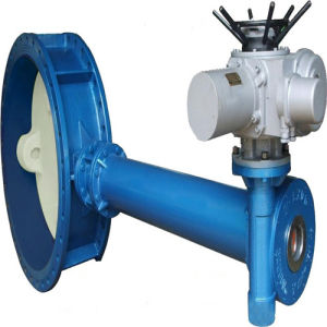 """78"""" Worm Wheel Flange Butterfly Valve pictures & photos"""