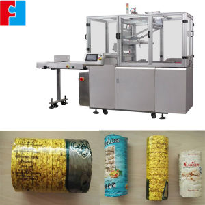 PLC Control Automatic Puffed Rice Cake Packing Machine pictures & photos