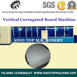 Corrugated Cabinet Cardboard Display Flash Machine pictures & photos