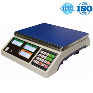 OIML Approved Electronic Counting Scale of 30kg pictures & photos