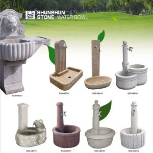 Granite Garden Outdoor Stone Fountain for Derocation pictures & photos