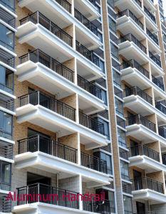 Aluminium Glass Staircase/Handrail (glass railings) /Escalator pictures & photos