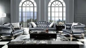 Classical Leather Fabric Sofa Set