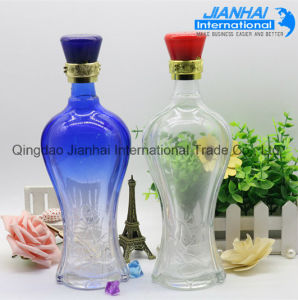 Hot Sale High Quality Glass Wine Bottle for Sale pictures & photos
