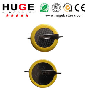 3.6V Lithium Rechargeable Battery Button Cell Battery Lir2430 pictures & photos