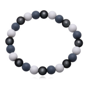 Fashion Imitation Jewelry Beaded Silicone Bracelet pictures & photos