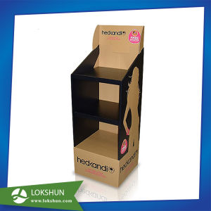Customized CD DVD Cardboard Advertising Display Stand pictures & photos